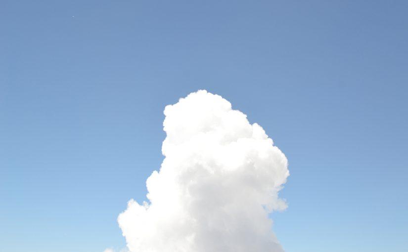 入道雲 富士山にて 撮影 戸田光祐|ものづくりの話