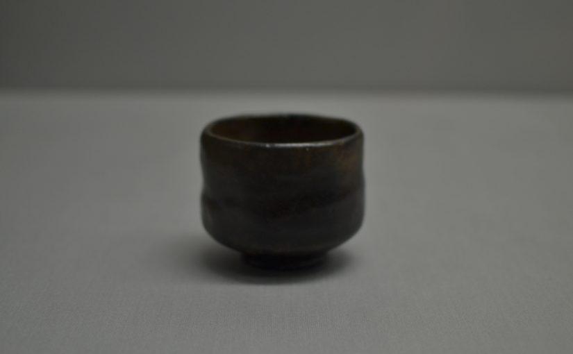 黒楽茶碗 銘 末広 長次郎 安土桃山~江戸時代・16~17世紀